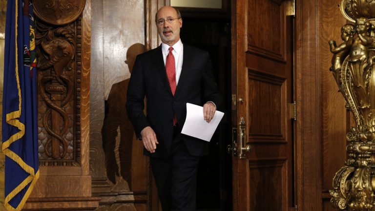Pennsylvania Gov. Tom Wolf says the budget package that will go into effect without his signature