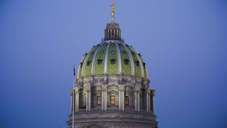 A Pennsylvania budget agreement is one step from the governor's desk, after a series of parliamentary moves in the House positioned a $30.8 billion spending plan for a final vote Wednesday. (AP photo/Matt Rourke)