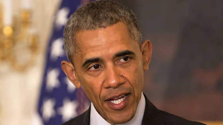 President Barack Obama speaks in  the White House  Wednesday about  commuting the prison sentences of 61 people -- including Vernon Harris of Philadelphia -- serving time for drug-related offenses. Most will be released July 28. (AP Photo/Jacquelyn Martin)