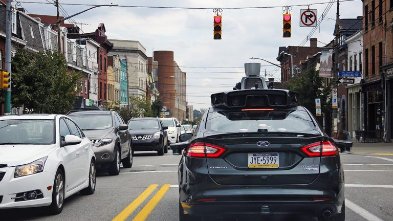 Self driving cars from Uber hit Pittsburgh streets in September 2016. At the U.S. Conference of Mayors in Washington