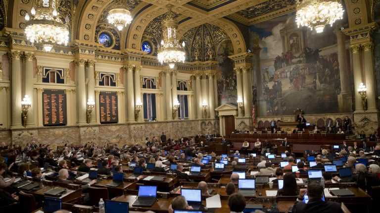 Pennsylvania's House of Representatives The House will have just 12 voting days before lawmakers retire to their districts for the election. (AP file  photo)