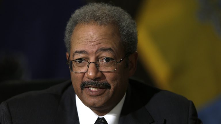 Denying federal charges of racketeering, U.S. Rep. Chaka Fattah says he intends to stay in office and run for re-election. He represents Philadelphia and parts of Montgomery County in Congress.(AP file photo)