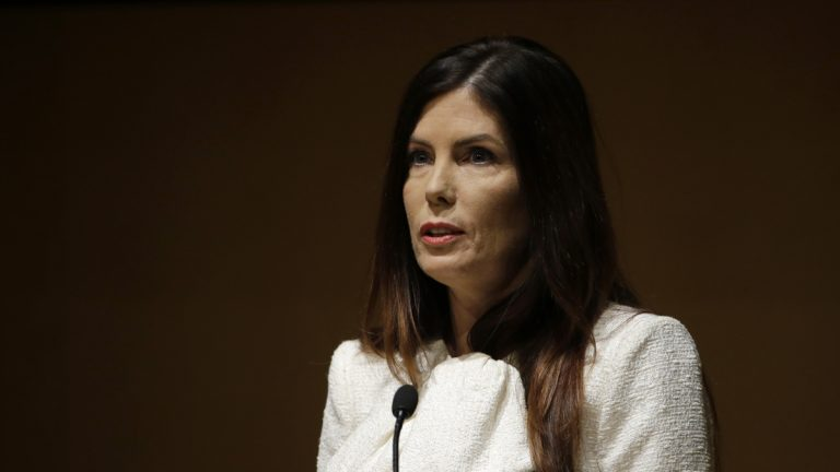 Pennsylvania Attorney General Kathleen Kane has decided against running for re-election. She is embroiled in a tangle of legal and political challenges. (AP file photo)
