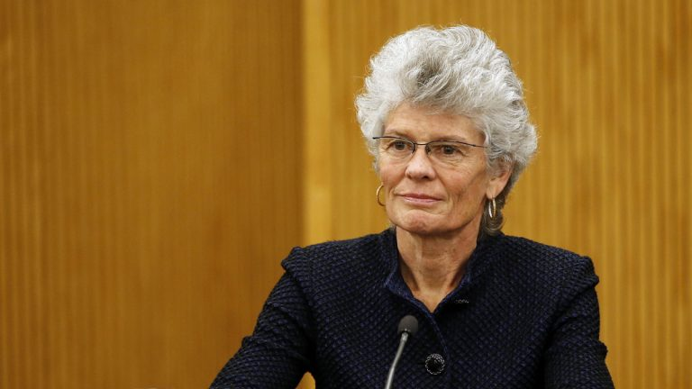 During a hearing on the legality of Philadelphia's tax on sweetened beverages, Commonwealth Court Judge Anne Judge Anne Covey questioned the logic of city officials.