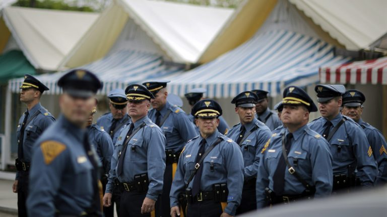 A New Jersey lawmakers wants too designate an attack on a police officer or a first responder as a hate crime. But the ACLU says such a law would be redundant. (AP file photo)