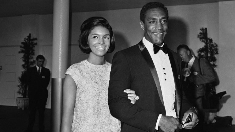 Bill Cosby and wife Camille arriving for TV Academy awards on Sept. 12, 1965 in Hollywood. (AP Photo)