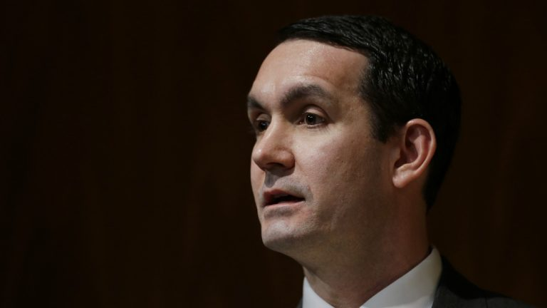 State Auditor General Eugene DePasquale is planning an audit into how money is managed in Pennsylvania's two biggest employee retirement systems. (AP file photo)