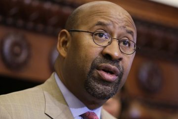 Former Mayor Michael Nutter will be teaching at Columbia University's School of International and Public Affairs as part of his post-mayoral career. (AP file photo)