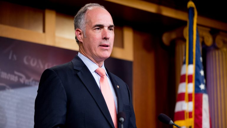 U.S. Senator Bob Casey is running for reelection against Congressman Lou Barletta. (AP file photo)