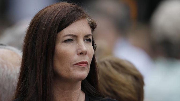 Pennsylvania Attorney General Kathleen Kane says she plans a special investigation into the extent of pornographic and offensive emails that have already implicated state and county prosecutors, judges, agents within the state attorney general's office, and others. (AP file photo)