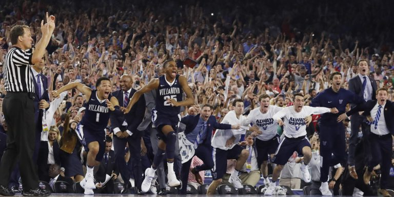 Philadelphia's No.5 ranking for college basketball may be due, in part, to the winning ways of Villanova, which last year won it all. (AP file photo)
