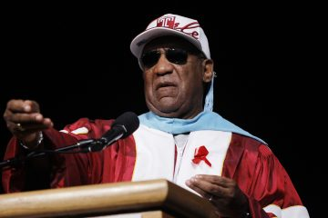 Bill Cosby is shown at Temple University 2011 commencement in Philadelphia. (AP Photo/Matt Rourke)