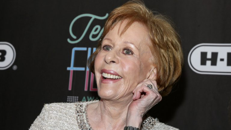 In this March 10, 2016 file photo, comedian-actress Carol Burnett appears at the 2016 Texas Film Awards at Austin Studios in Austin, Texas. (Jack Plunkett/Invision/AP, File)