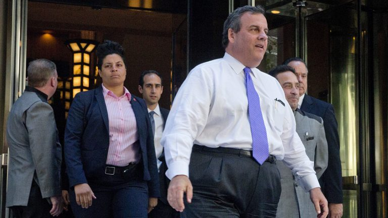 A series of emails appear to show Chris Christie being informed directly that a public office under his charge was engaging in political activities. (Mary Altaffer/AP Photo)