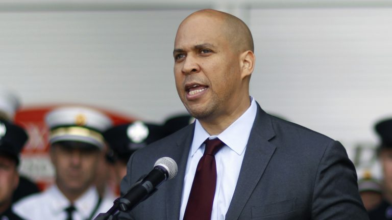 U.S. Sen. Cory Booker, D-New Jersey, is part of a bipartisan group of legislators  pushing for an overhaul of the federal criminal justice system. (Mel Evans/AP Photo)
