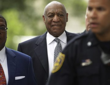 Bill Cosby arrives at a pretrial hearing in his sexual assault case at the Montgomery County Courthouse in Norristown, Pa., Tuesday, Aug. 22, 2017. (Matt Rourke/AP Photo)