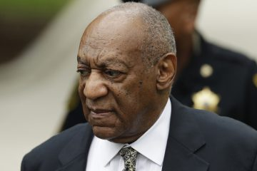 Bill Cosby at the Montgomery County Courthouse last week in Norristown, Pa. (Matt Slocum/AP Photo)
