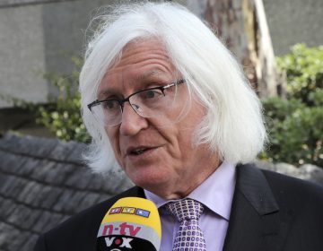 FILE - In a May 24, 2017 file photo, Tom Mesereau, attorney for model and Playboy bunny Danielle