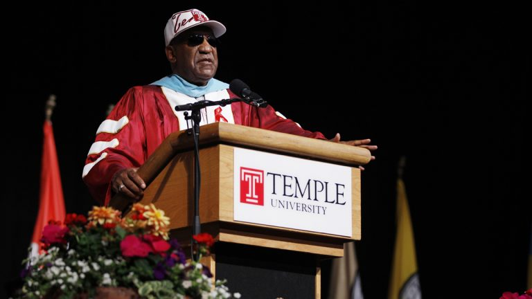 Comedian Bill Cosby at Temple University's commencement Thursday, May 12, 2011, in Philadelphia.  (Matt Rourke/AP Photo, file)