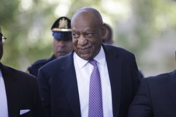 Bill Cosby arrives for his sexual assault trial at the Montgomery County Courthouse in Norristown, Pa., Friday, June 9, 2017. (Matt Rourke/AP Photo)