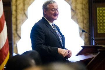 Mayor Jim Kenney is pictured here at City Hall in Philadelphia, in this Thursday, June 16, 2016 file photo. (Matt Rourke/AP Photo)