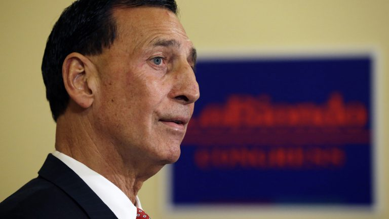 Republican Congressman Frank Lobiondo  was first elected to Congress in November 1994. (AP photo, file)