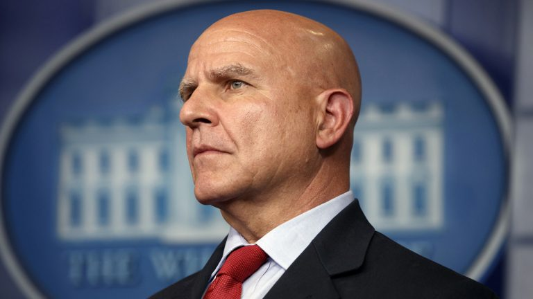 National security adviser H.R. McMaster listens during the daily press briefing at the White House, Monday, July 31, 2017, in Washington. (Evan Vucci/AP Photo)
