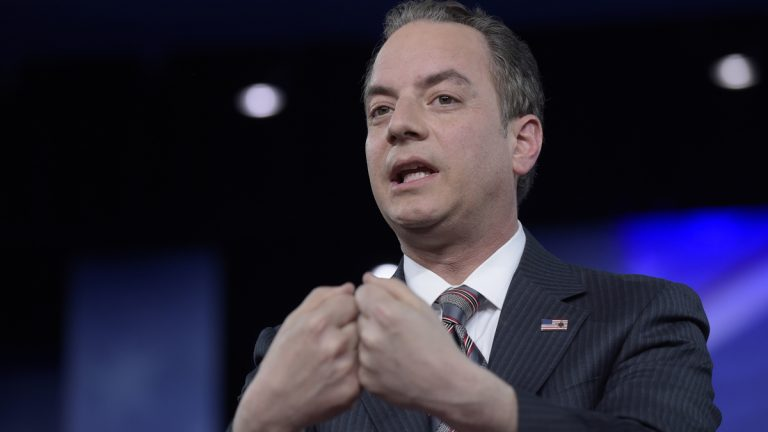 White House Chief of Staff Reince Priebus speaks at the Conservative Political Action Conference (CPAC) in Oxon Hill, Md., Thursday, Feb. 23, 2017. (Susan Walsh/AP Photo)