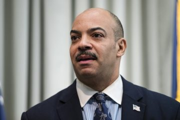 Philadelphia District Attorney Seth Williams pictured here in this  Friday, Feb. 10, 2017, file photo during a news conference in Philadelphia (Matt Rourke/AP Photo)
