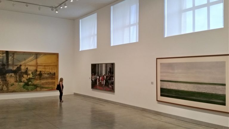Works of art recently donated by Keith and Katherine Sachs are on display at the Philadelphia Museum of Art. (Peter Crimmins/WHYY)