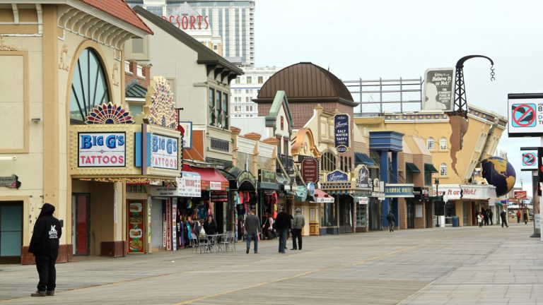 Atlantic City Mayor Don Guardian will meet with members of City Council Tuesday to discuss the possibility of declaring municipal bankruptcy in the town known for its Boardwalk. (Emma Lee/WHYY)