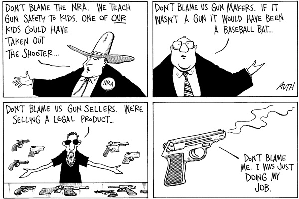 """<p><p>March 7, 2001. """"The Philadelphia Inquirer."""" Universal Press Syndicate.</p></p>"""