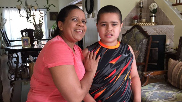 Francisca Castelli and her son,James. James was a student at Wordsworth Academy in Fort Washington, Pennsylvania.