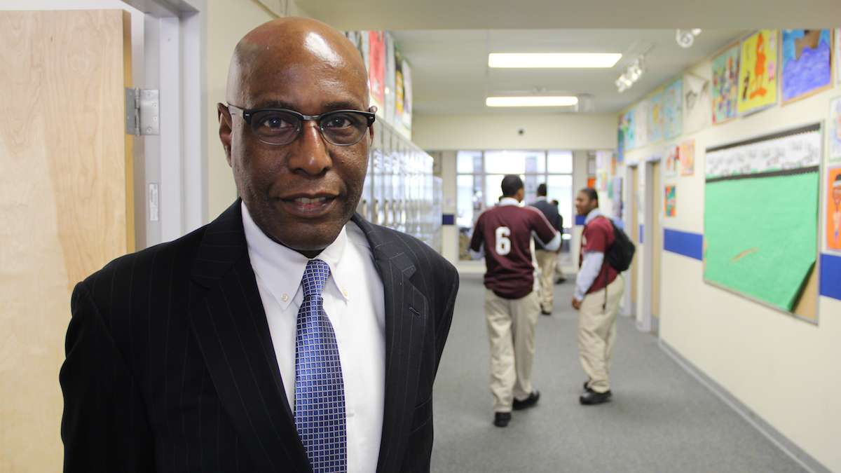 David Hardy is chief executive officer of Boys' Latin of Philadelphia.  (Emma Lee/WHYY)