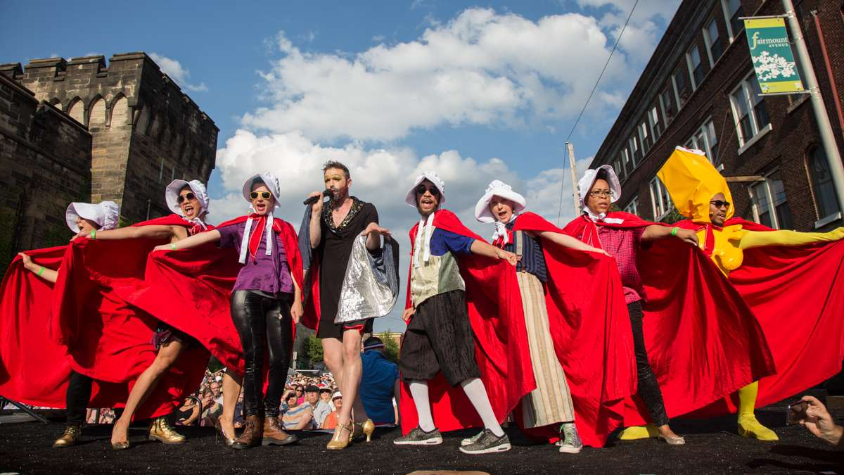 The Bearded Ladies Cabaret blends a camp account of the French Revolution with a satirical look at current events