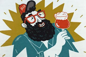 Illustration from 'The Beer Geek Handbook' by Patrick Dawson