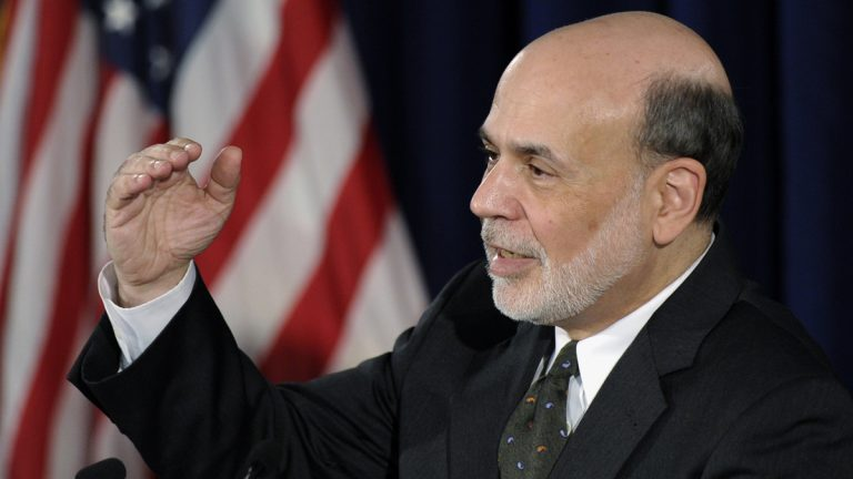 Federal Reserve Chairman Ben Bernanke said Wednesday that the Fed is moving closer to slowing efforts to keep long-term interest rates at record lows. (AP Photo/Susan Walsh)