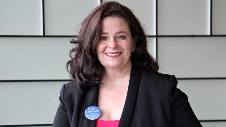 Beth Grossman is the Republican candidate for Philadelphia district attorney. (Emma Lee/WHYY)
