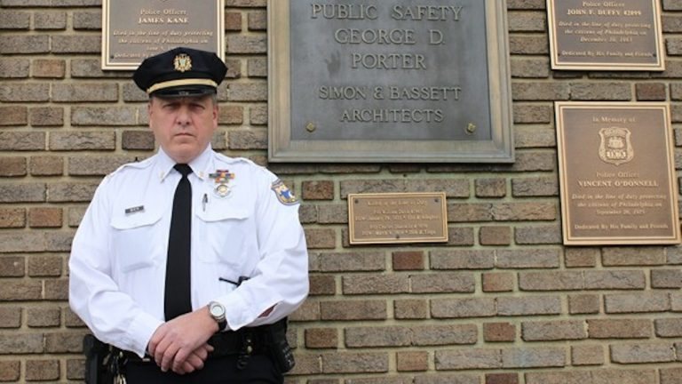 Lt. Edward Bier of the 39th Police District,   (Matthew Grady for NewsWorks)