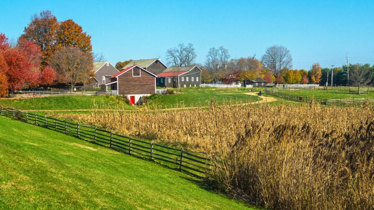 Historic Longstreet Farm in Holmdel is part of Monmouth County's open space. (Andy Kazie/Bigstock)