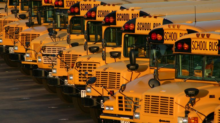 New Jersey Weighs Plan To Pay For School Bus Cameras With Fines On Drivers Whyy
