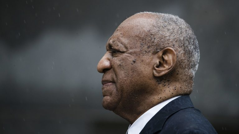 Bill Cosby is shown exiting the Montgomery County Courthouse after a mistrial in his sexual assault case in Norristown, Pa., Saturday, June 17, 2017. Last week, reports surfaced about Cosby's plans to tour the country lecturing young people about the dangers of sex-crime allegations. (AP Photo/Matt Rourke)