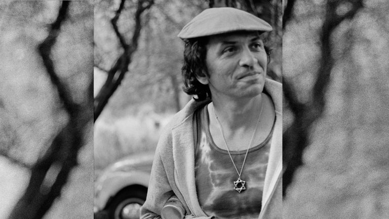 Bill Graham at a family barbecue in Butano Canyon, Northern California, in 1972. (Photo courtesy of the National Museum of American Jewish History)