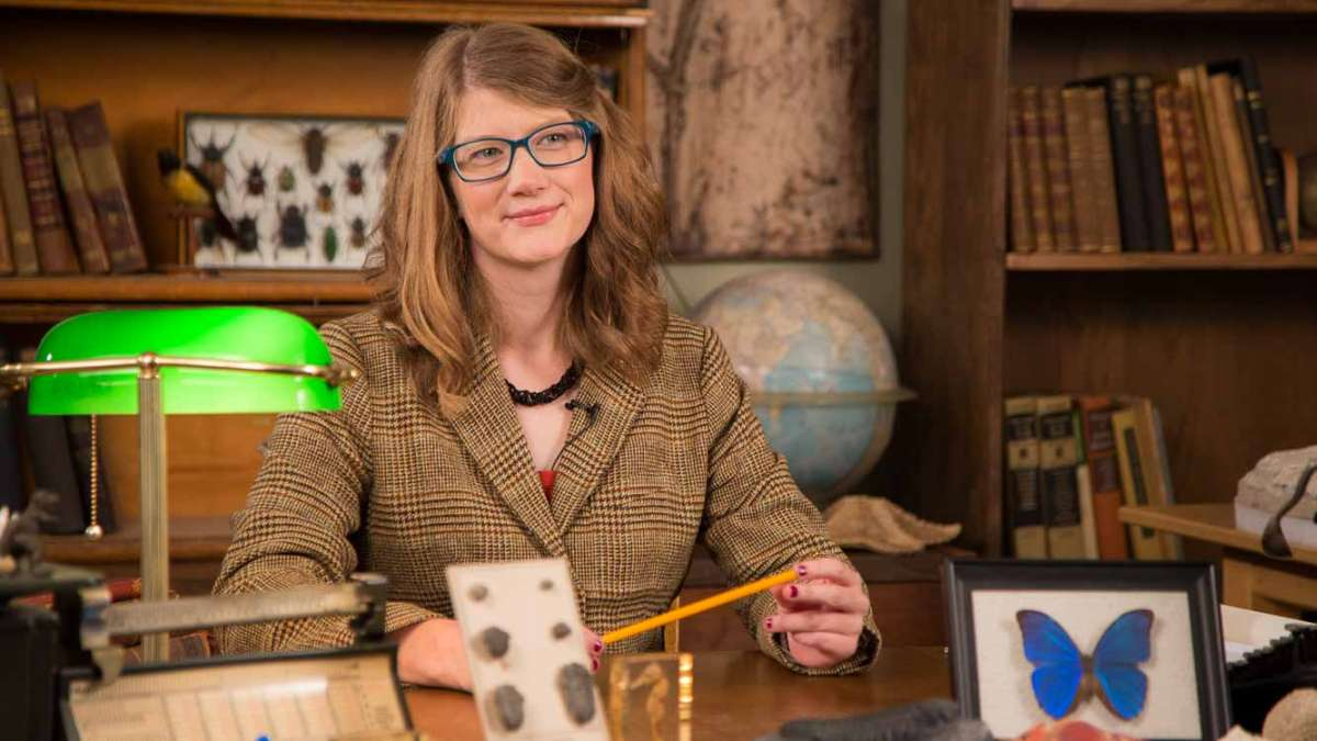 Through her web series, Emily Graslie explores natural history museums. (Courtesy of Sheheryar Ahsan of The Field Museum)