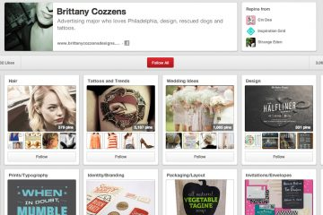 Temple student Brittany Cozzens is a Pinterest sensation with over three million followers