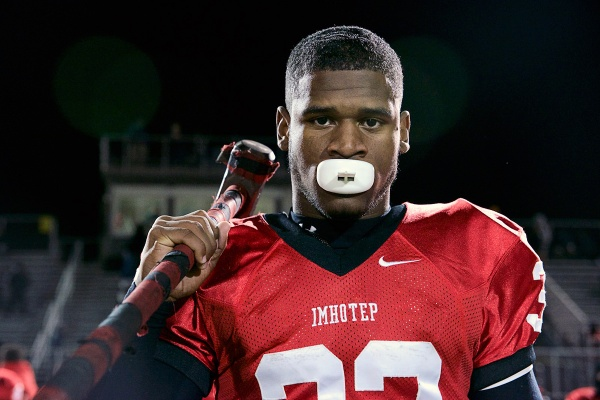 <p><p>Star running back David Williams plays for the Imhotep Panthers after having transferred from West Catholic. (Bas Slabbers/for NewsWorks)</p></p>