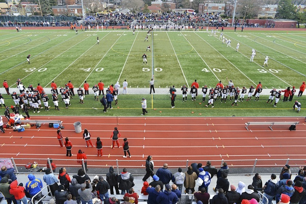 <p><p>The PIAA AA semifinal match up between the Wyomissing Spartans and Imhotep Panthers was held Saturday at the Benjamin L. Johnson Memorial Stadium. The home team lost 35-13. (Bas Slabbers/for NewsWorks)</p></p>
