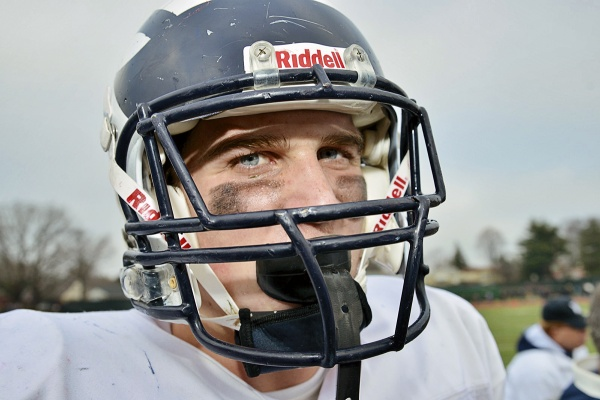<p><p>After the game, Wyomissing's star RB/LB Alex Anzalone said he was proud of his team and was looking forward to next week's state-championship game versus Aliquippa. (Bas Slabbers/for NewsWorks)</p></p>