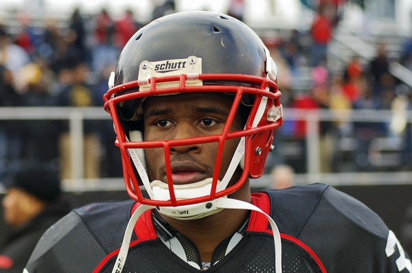 <p><p>Imhotep running back David Williams will now decide between Ohio State University, Arizona State University, the University of South Carolina and the University of Miami. (Bas Slabbers/for NewsWorks)</p></p>