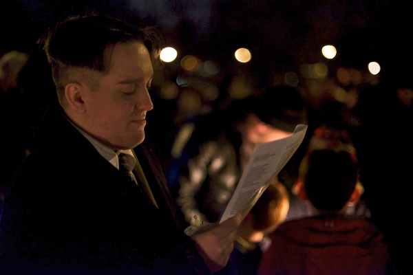 <p><p>This was the 27th annual carol sing at McMichael Park. (Bas Slabbers/for NewsWorks)</p></p>